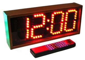 Світлодіодний годинник-табло призначений для індикації часу fdb520df9fdba