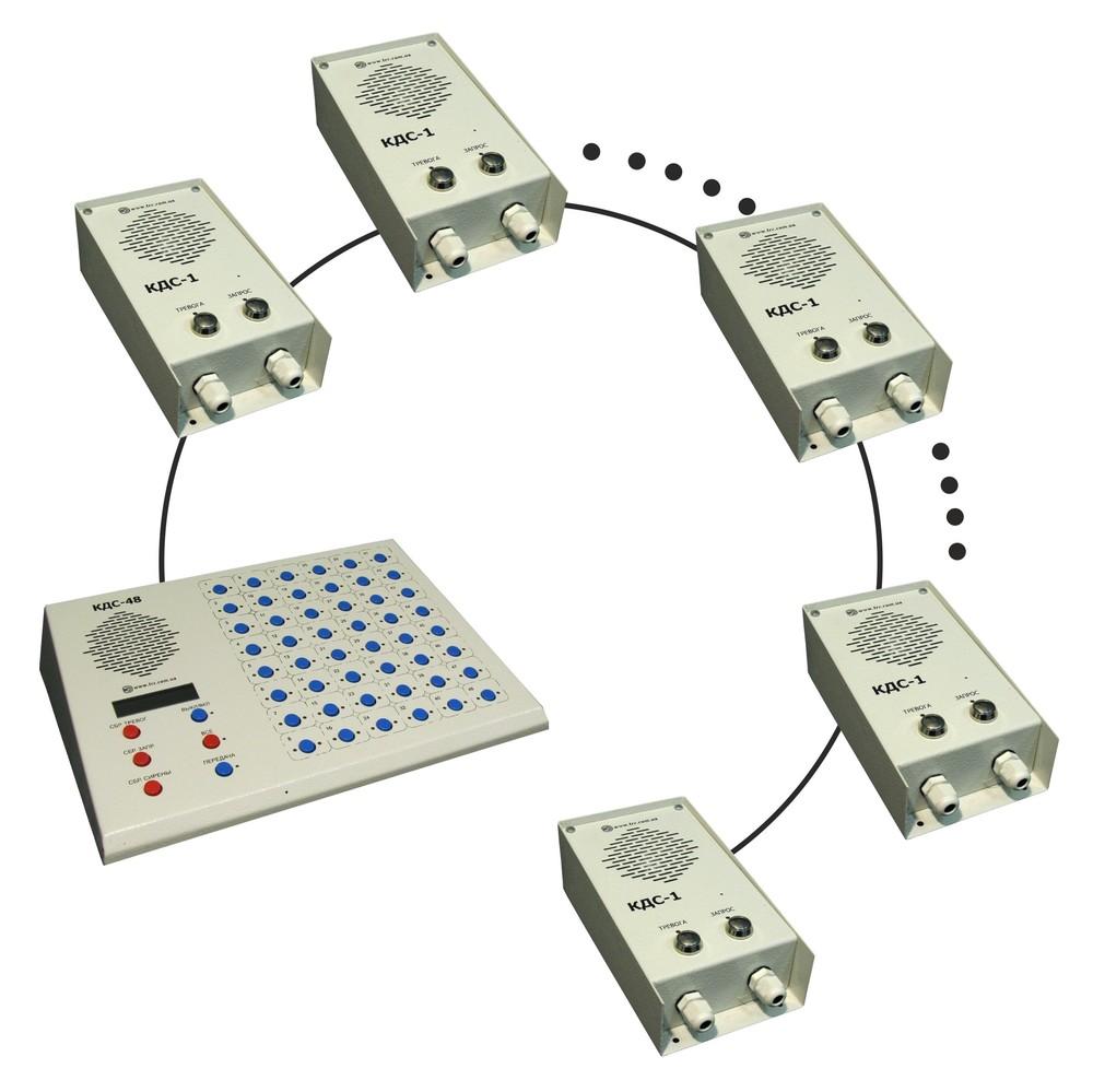 У кожній опорній точці вартовий може одним натисканням кнопки КДС-1-110    КДС-1-120 увімкнути аварійну сигналізацію у вартовому приміщенні. df6f1a0f63653